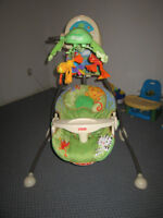 $65 obo Rainforest Plug in & Battery Operated Swing-Unisex,Etc