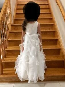 Communion Dress- size 7 (will fit 8 year old)