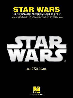 Star Wars for Organ Sheet Music Organ Folio Book NEW 000157400