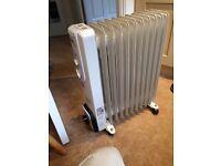 Portable electric radiator