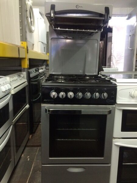 Silver & black flavel high level gas cooker grill & oven good condition with guarantee bargain