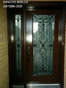 Front Door Entrance Window Side  Best Pricing and Service