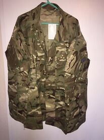"British army warm weather jacket 38-40"" chest"