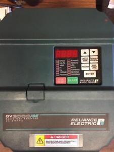 220V 10HP 7.5kW Variable Frequency Drive Reliance Electric Made in Japan