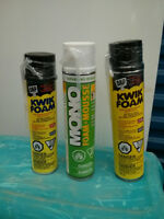 Spray Foam 3 Large cans