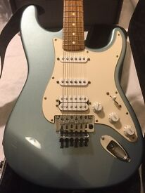 Fender Floyd Rose Factory Set Strat with case and Fender amp