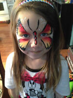 Face Painter and Balloon twister for all Occasions