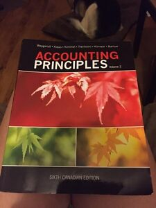 Accounting Principles  6th Canadian Edition
