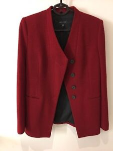 Red jacket-made in Canada