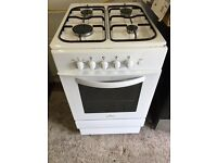White 50cm Gas Cooker Fully Working Order Vgc Just £75 Sittingbourne