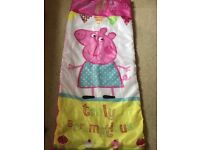 Peppa pig sleeping bag