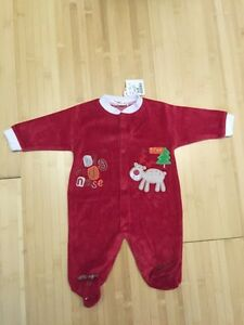 New with tags 3-6 month Christmas sleeper.