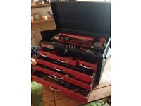 TALCO 6 DRAWER METAL TOP TOOL CHEST / CABINET