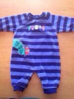 """2 """"Very Hungry Caterpillar"""" Rompers (3-6 mo)"""