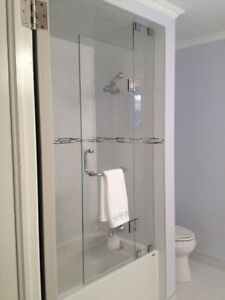 Frameless Shower Glass Doors Enclosures bathtubs - Mirrors etc. Cambridge Kitchener Area image 6