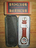 ***LIONEL TRAINS NEVER WORN BRAND NEW COLLECTIBLE WATCH!!!***