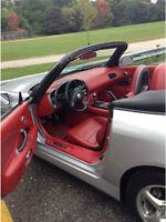 2003 Honda S2000 Silver/Red Convertible - AP1
