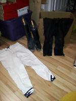 Equitation Pantalons bottes pour homme