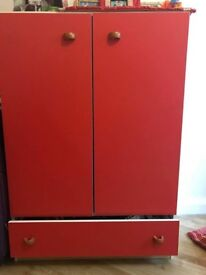 2 wardrobes in Red colours are for sale
