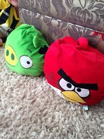 Angry birds soft toy collection