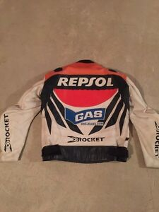 Joe Rocket Leather jacket Repsol edition