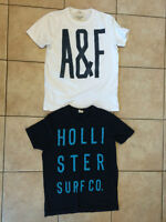 2 MENS XL T-SHIRTS HOLLISTER AND ABERCROMBIE & FITCH