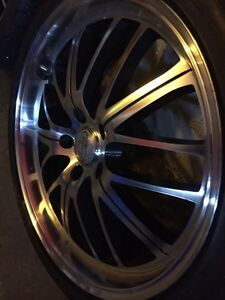 "** BEAUTIFUL DEEP DISH 19"" RIMS WITH TOYO TIRES MINT!!"