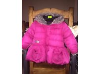 Girls Catimini coat