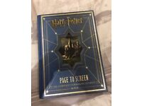 Harry Potter - from page to screen - hardback book RRP £49.99