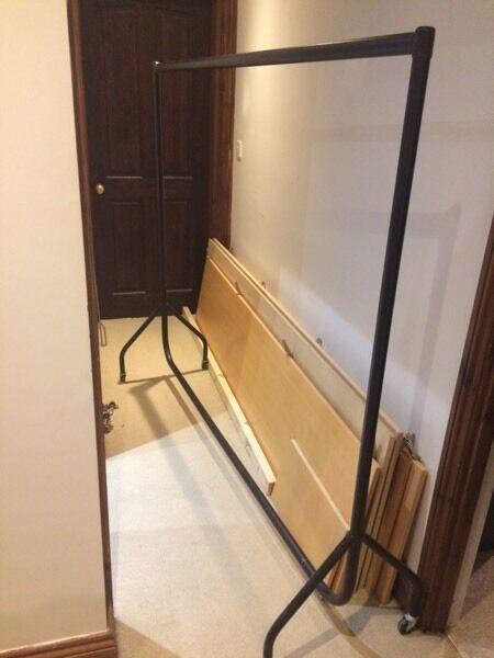 Hanging rail, clothes rail