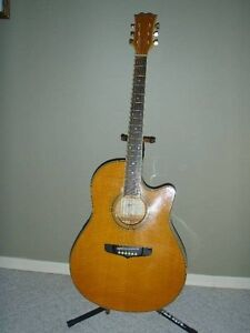 Fenix by Young Chang SL90 Electric-Acoustic Guitar.