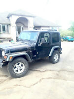 2001 Jeep TJ In Great Condition