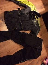 Weise Frank Thomas motorcycle waterproofs textile trousers jacket
