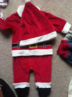 3m baby Santa costume BRAND-NEW WITH TAGS