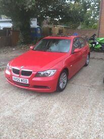 BMW 320 e90 auto red