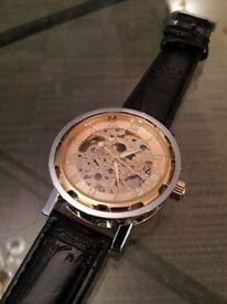 Brand New unworn gents mechanical wristwatch
