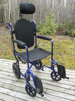 "19"" Invacare wheelchair - Chaise Roulante 19"" Invacare"