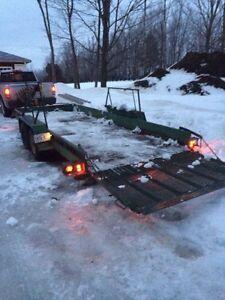 18 Foot Landscape trailer 7500 pound capacity