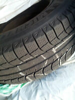 Winter Tire Set for Toyota Sienna on RIM -- Size 215/70-16