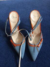 Dior heels size 37 (UK 4)