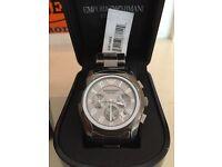 Brand New Emporio Armani AR1465 mens ceramica watch - Not hugo boss, tag, rolex, audermars