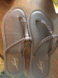 Genuine leather sandals