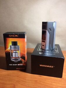 Reuleaux RX 2/3 + Smok TFV8 Baby + 8 coils
