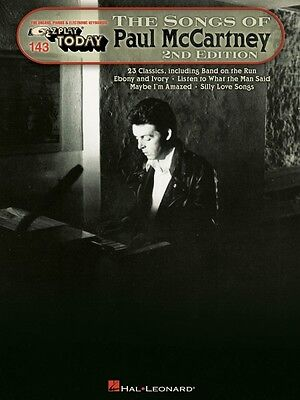 The Songs of Paul McCartney Sheet Music E-Z Play Today Book NEW 000101946