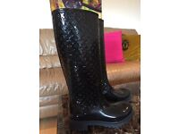 Louise Vuitton rain boots
