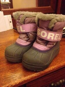 "Sorel ""snow commander"" toddler winter boots"