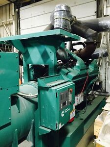 Cummins 2 mV Diesel Generator Heavy Duty Rad and Exhaust
