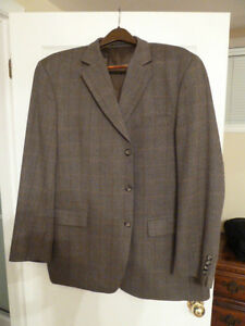 men's BLAZER by ALFRED SUNG - size 48 long/tall