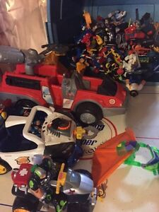 Large collection of Rescue Heroes