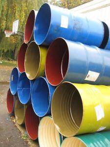 Steel barrels for your DIY barrel stove London Ontario image 2
